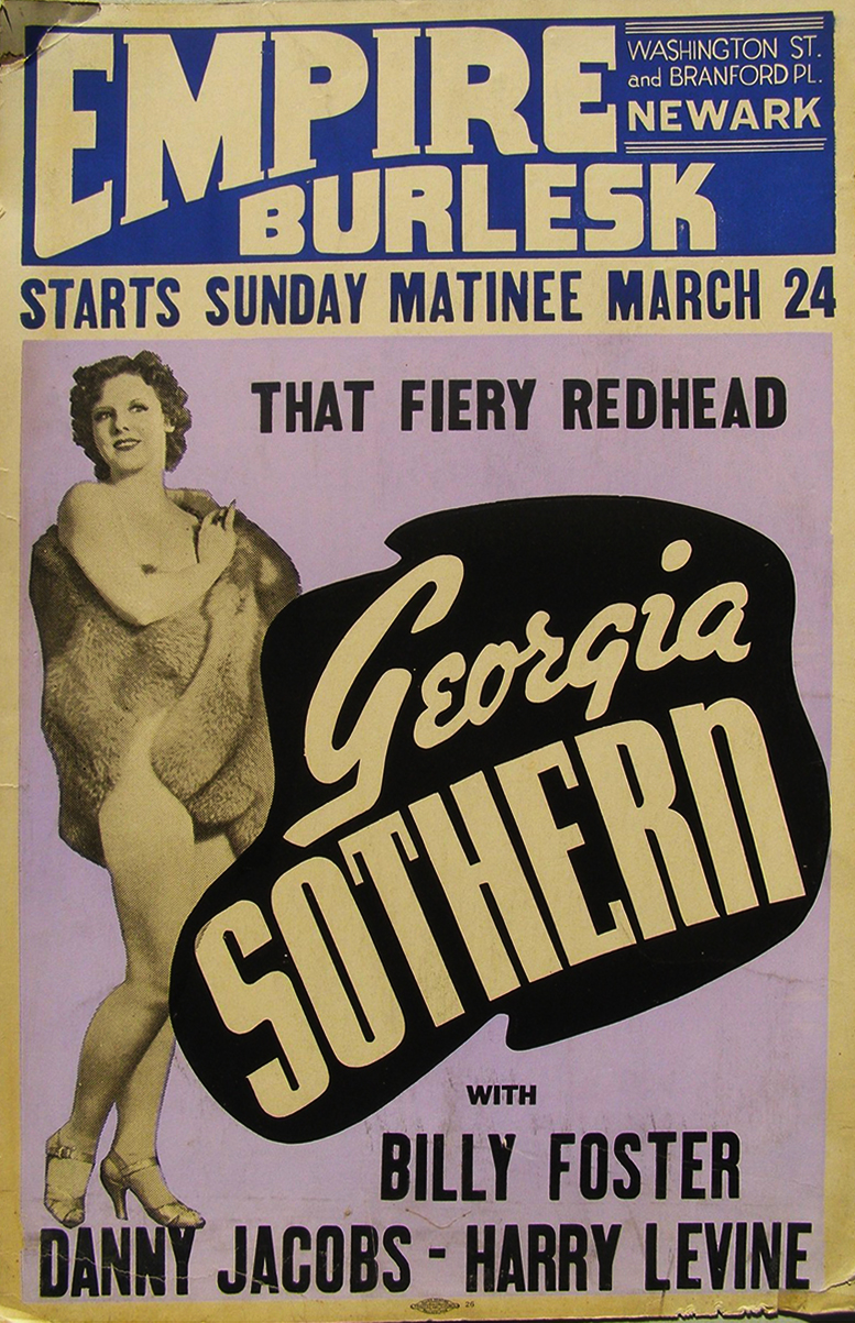 Georgia Sothern at Empire Burlesk