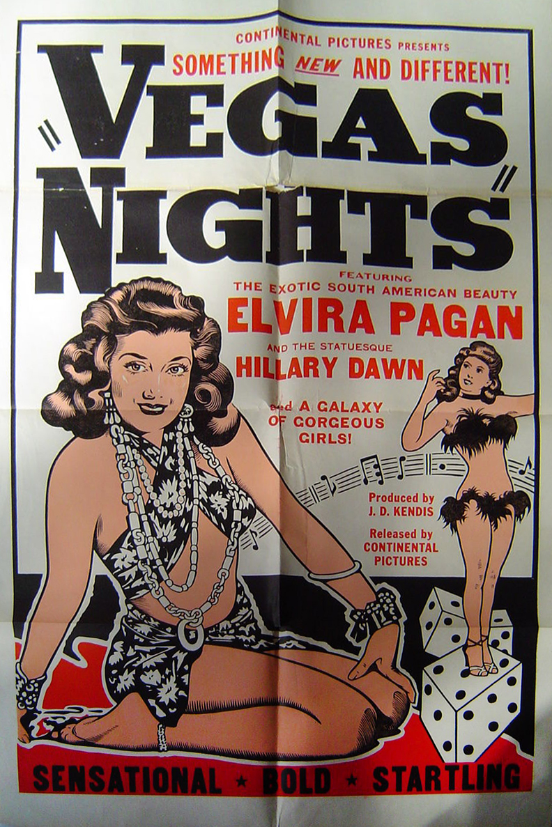 Vegas Nights 1 Sheet