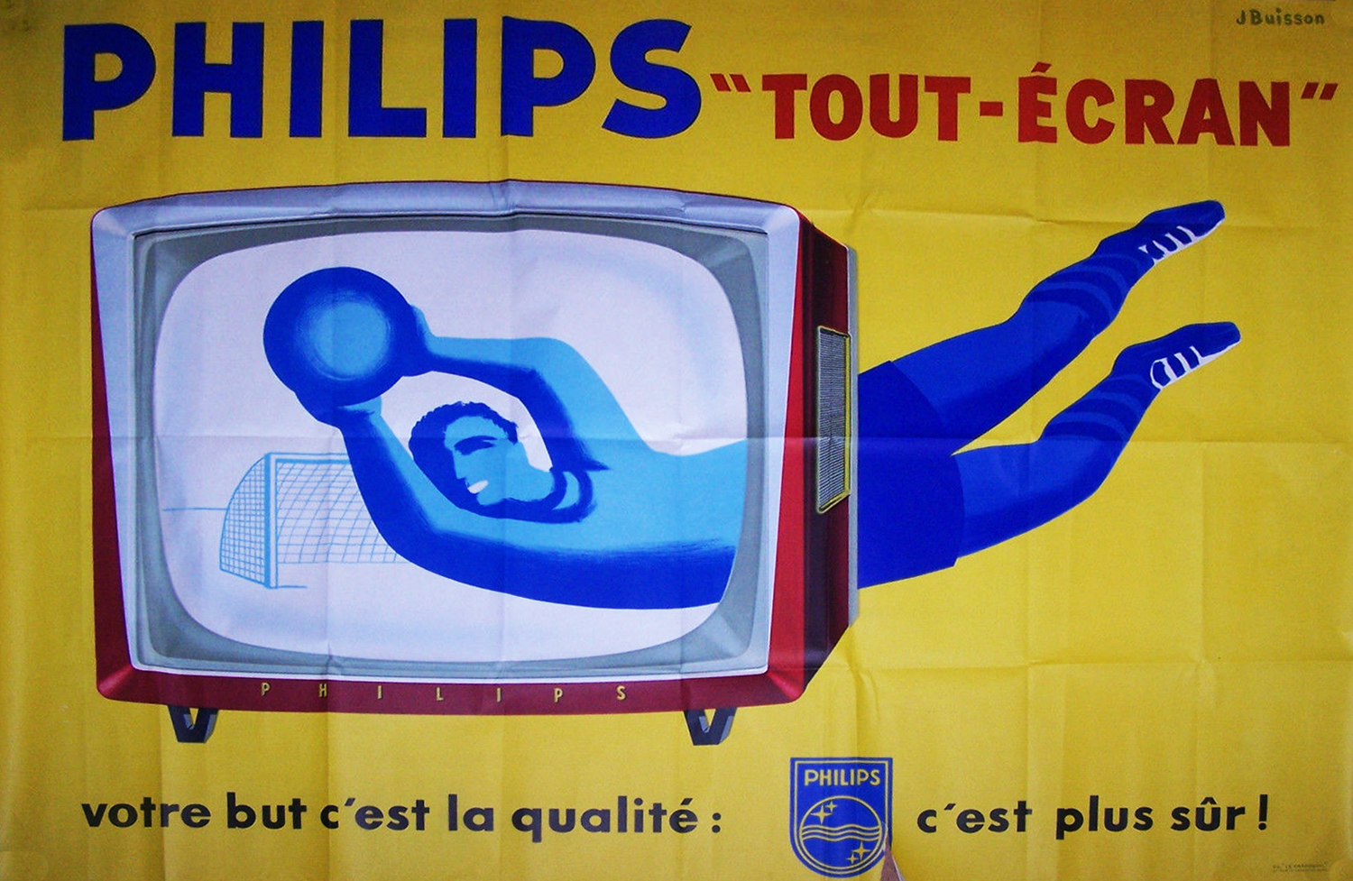 Philips Football Poster